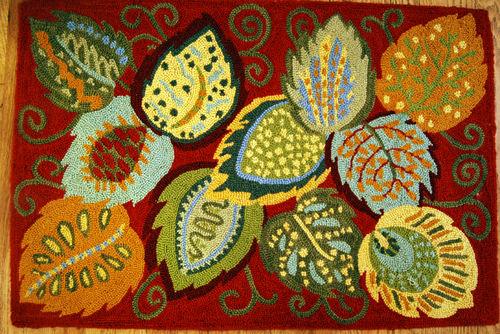Foliage-rug