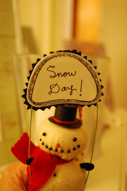 Snowday!-ornament