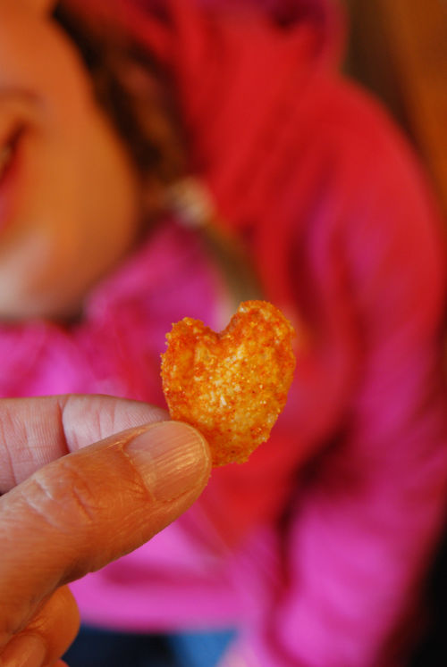 Heart-shaped-chip