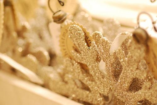 Snowflake-glitter
