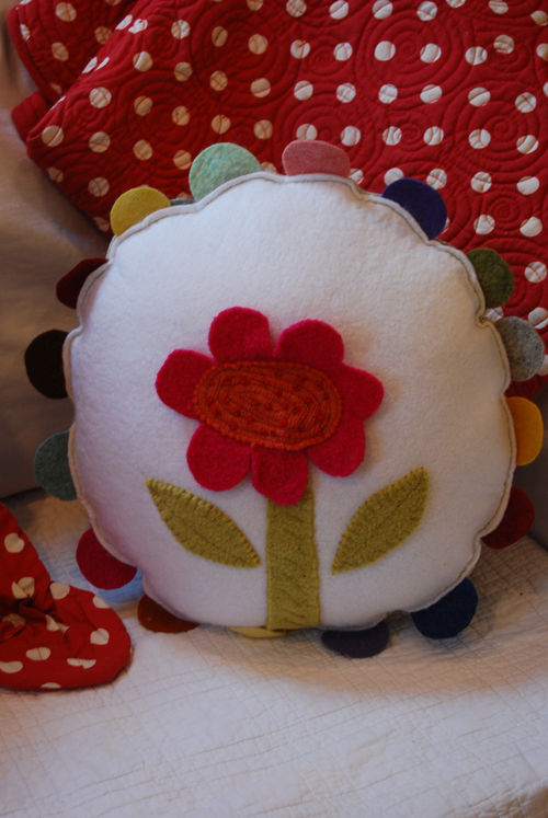 Flower-pillow
