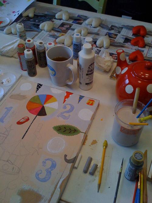 Circus painting 1