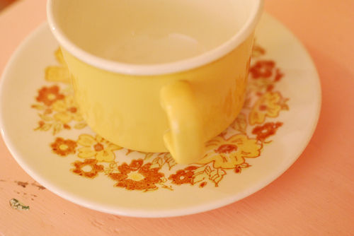Yellow-teacup