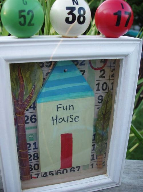 Fun house framed